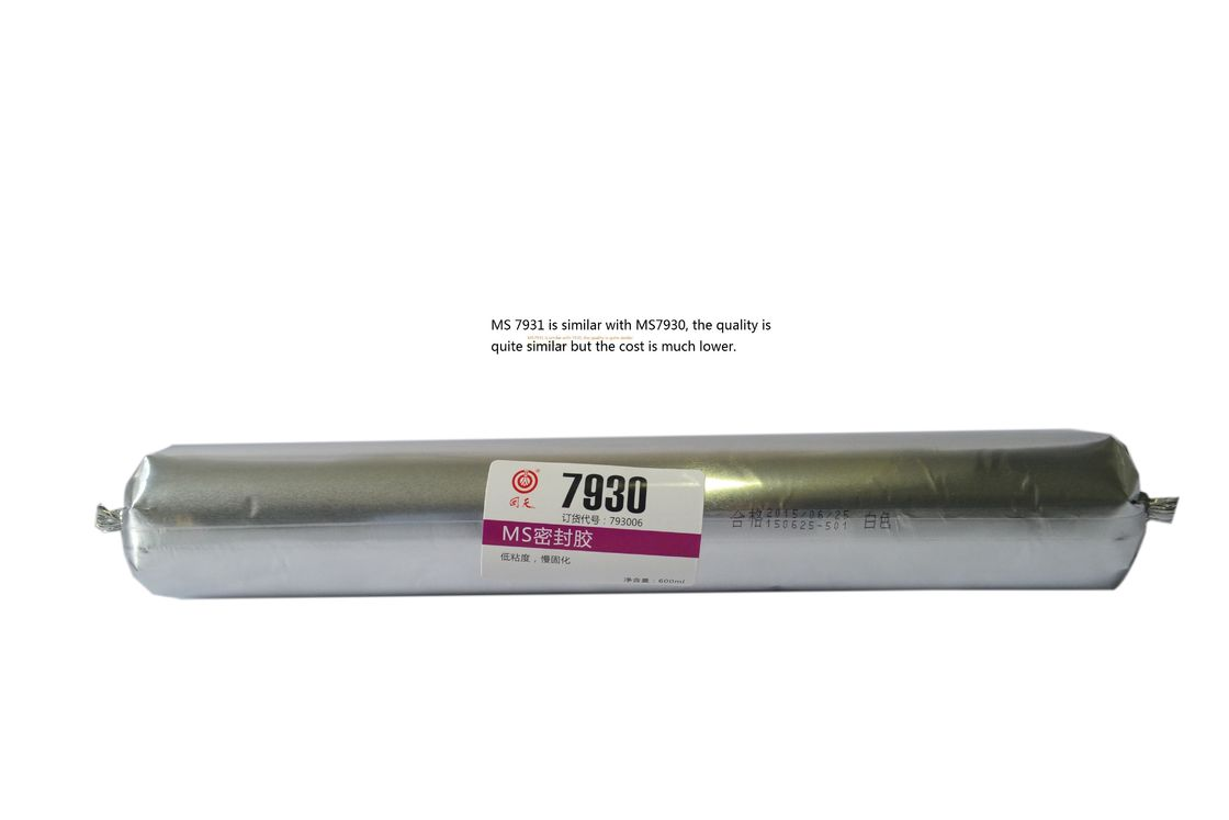 Long Working Time Industrial Adhesive Glue , MS7931 white MS sealant adhesive for auto